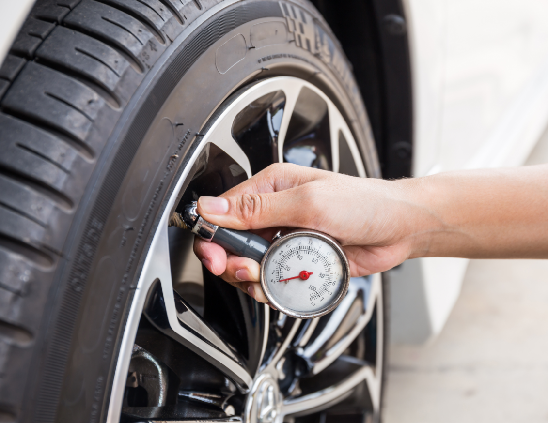 Image of tyre pressure checks