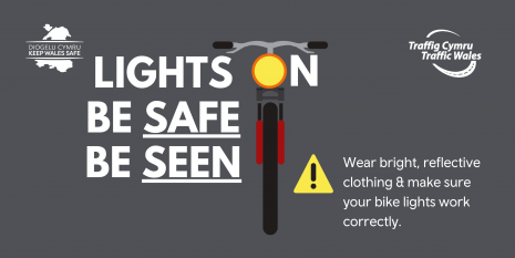 be safe be seen inforgraphic